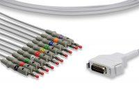 Fukuda Denshi Compatible Direct-Connect EKG Cable
