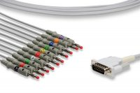Philips Compatible Direct-Connect EKG Cable - M2461A
