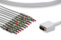Nihon Kohden Compatible Direct-Connect EKG Cable