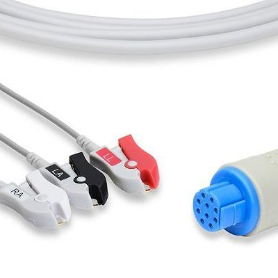 Datex Ohmeda Compatible Direct-Connect ECG Cable