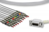 Hellige Compatible Direct-Connect EKG Cable